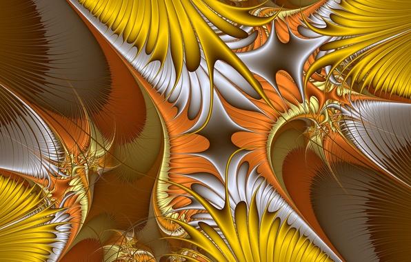 Picture line, pattern, color, fractal, chaos