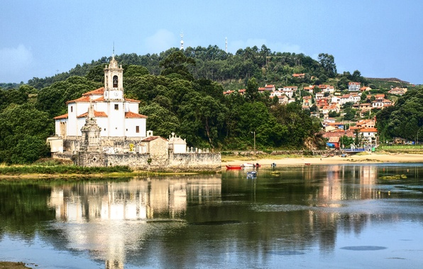 Picture photo, Home, The city, River, Cathedral, Temple, Spain, The monastery, Barru