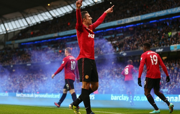 Picture Sport, Football, Football, Manchester United, Goal, Robin van Persie, Robin van Persie, Manchester United Football ...