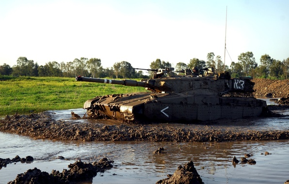 Picture tank, armor, military equipment, Israel, Merkava 2