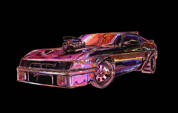Picture machine, auto, color, Road Warrior