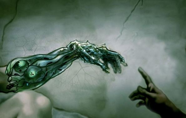 Picture help, technocracy, hand of god, antique
