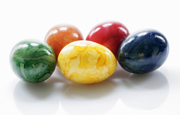 Picture pattern, color, eggs, Easter, colorful