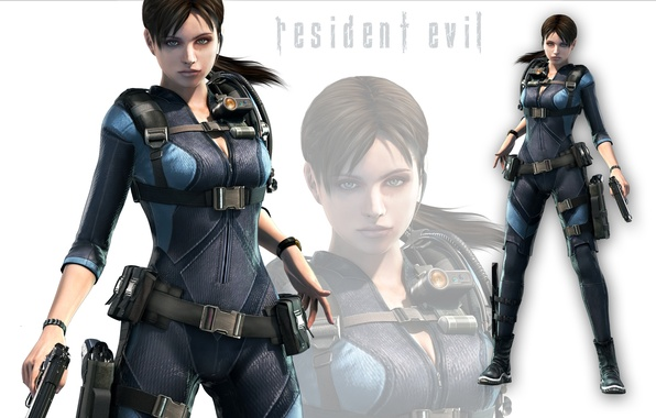 Picture girl, sexy, resident evil, fighter, brown hair, warrior, capcom, STARS, BSAA, jill valentine