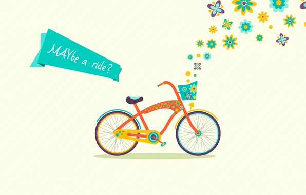 Picture bike, may, may, maybe a ride