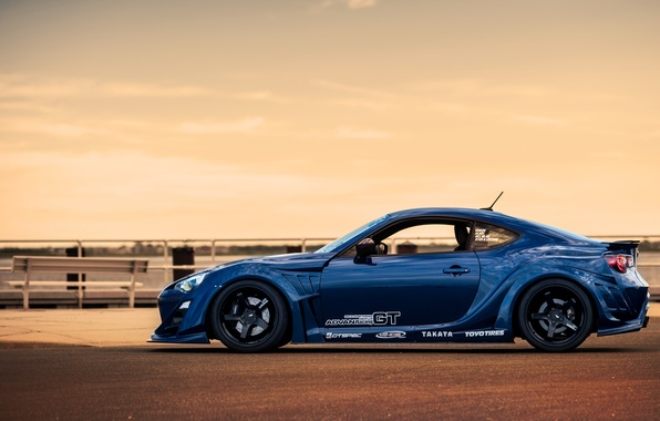 Picture car, tuning, tuning, Toyota, rechange, toyota gt86