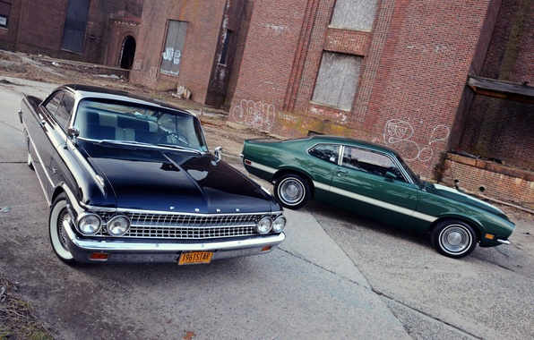 Picture Ford, Galaxie, Ford, 1972, 1961, Grabber, Starliner, Maverick