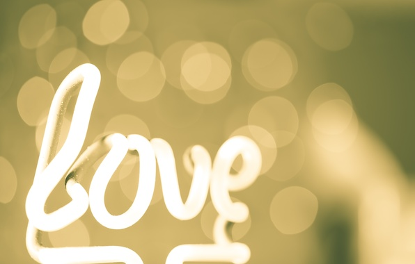 Picture abstraction, style, Love, Love, abstract, style, bokeh, bokeh