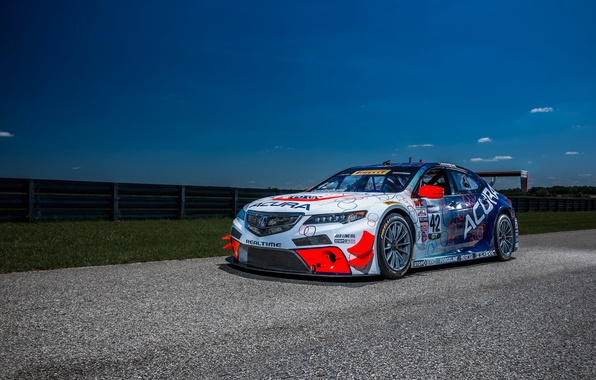Picture Acura, Acura, Race Car, 2014, TLX