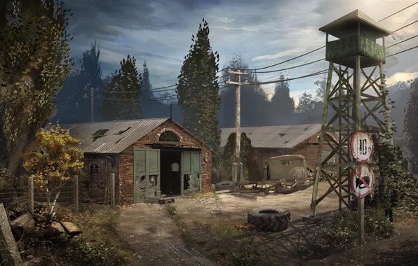 Picture tower, Chernobyl, Stalker, Pripyat, S. T. A. L. K. E. R. 2