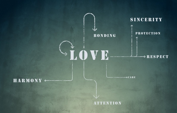 Wallpaper attachment, care, attention, love, scheme ...