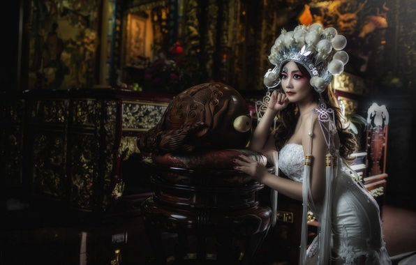 Picture pose, style, model, makeup, dress, outfit, Asian