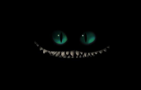 Picture cat, smile, Cheshire cat