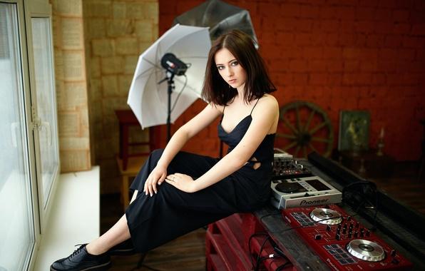 Picture portrait, neckline, the beauty, Maria, Studio, Masha, Mariya, Alexander Veselov
