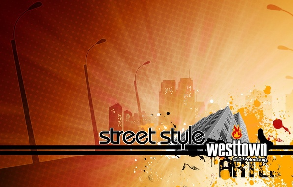 Picture design, the city, Style