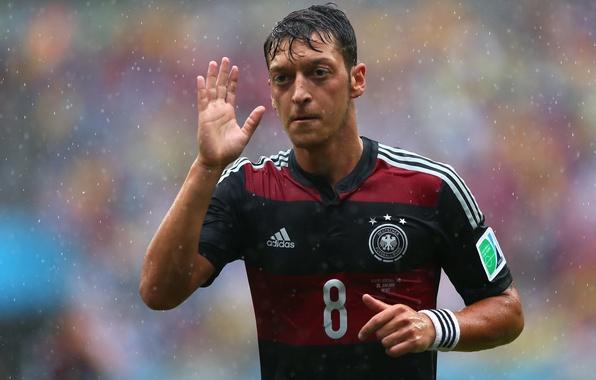 Wallpaper Germany, Rain, Football, Brazil, Germany