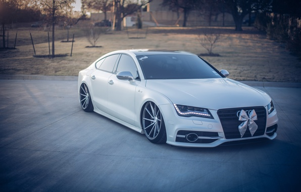 Picture Audi, Tuning, AUDI, Drives, Vossen