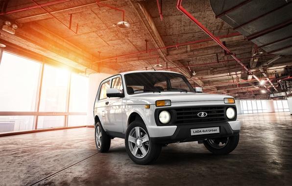 Wallpaper SUV, car, megapolis, Urban, Lada, 4x4, LADA, Niva, VAZ, a best-seller., urban, equipment