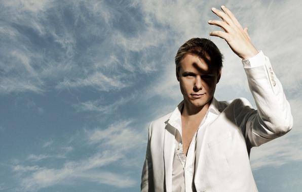 Picture the sky, hand, shadow, Armin van Buuren, Armin van Buuren