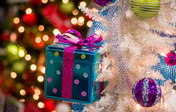 Picture balls, decoration, gift, toys, tree, box