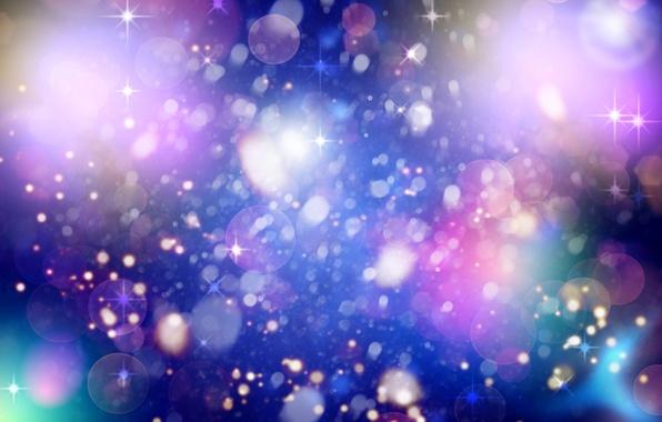 Picture glow, spot, stars