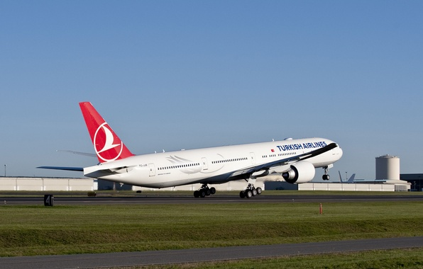 Picture The sky, Weather, Airport, Strip, Wings, Engine, Boeing, Flight, Flight, The rise, sky, Turkey, Boeing, …