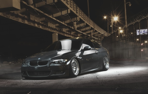 Picture BMW, Tuning, BMW, Drives, Coupe, E92, Stance