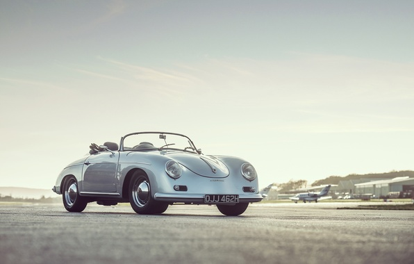 Picture car, classic, retro, Speedster, Porsche 356