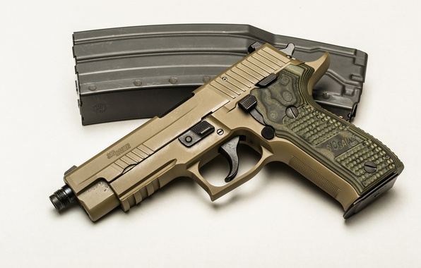 Wallpaper Pistols Sig Sauer P226 Army: Wallpaper Gun, Weapons, Background, SIG-Sauer, P226 Images