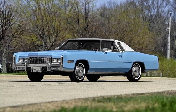 Picture Eldorado, Cadillac, Cadillac, 1975, Eldorado