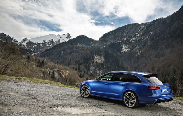 Picture Audi, Audi, universal, Before, RS 6
