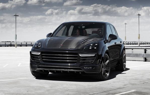 Picture black, Porsche, Porsche, Black, Cayenne, Cayenne, Ball Wed, 2015