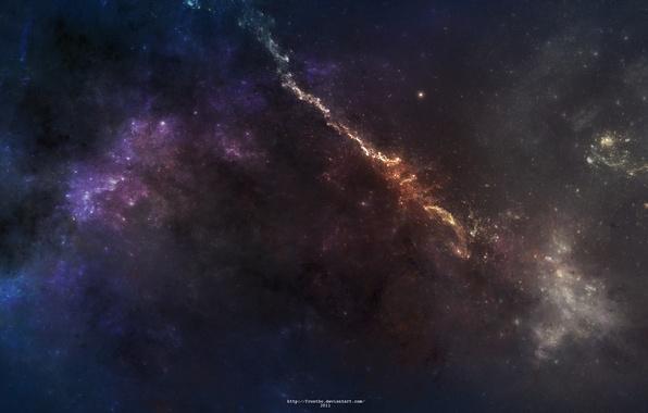 Picture stars, light, nebula, constellation, omaet nebula