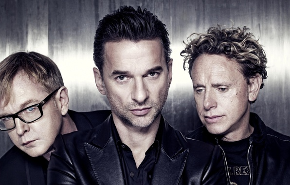 Picture men, musicians, the legendary band, Depeche mode, Andrew Fletcher, Herald of fashion, Martin Gore, David …