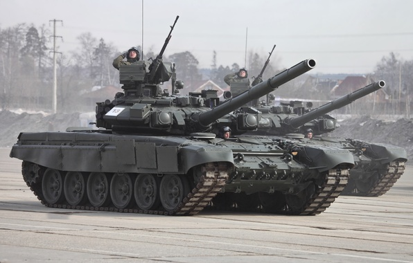 Picture tank, Russia, T-90, honor, Parade