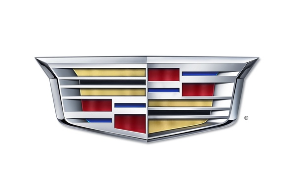 Picture Cadillac, logo, new, 2014