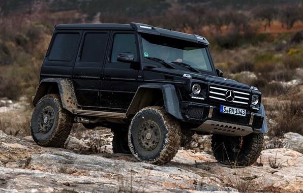 Picture Concept, stones, black, Mercedes-Benz, Mercedes, BRABUS, 4x4, AMG, Benz, W463, 2015, G 500