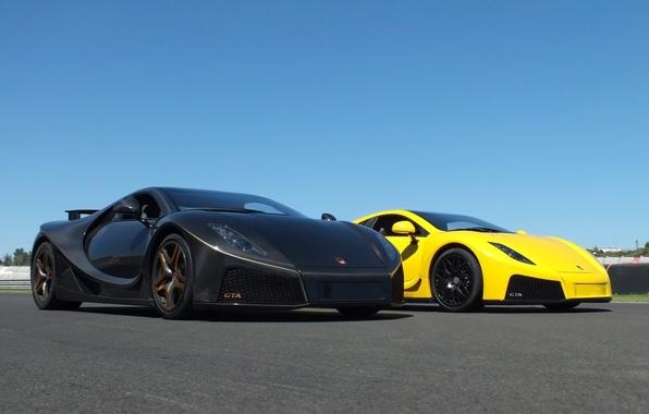 Picture pair, supercars, 2014, Spania, GTA Spano