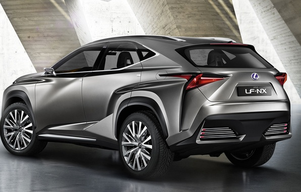Picture Lexus, crossover, NF-NX