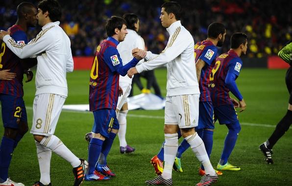 Picture Sport, Football, Cristiano Ronaldo, Lionel Messi, Football, Real Madrid, Real Madrid, Cristiano Ronaldo, FC Barcelona, …