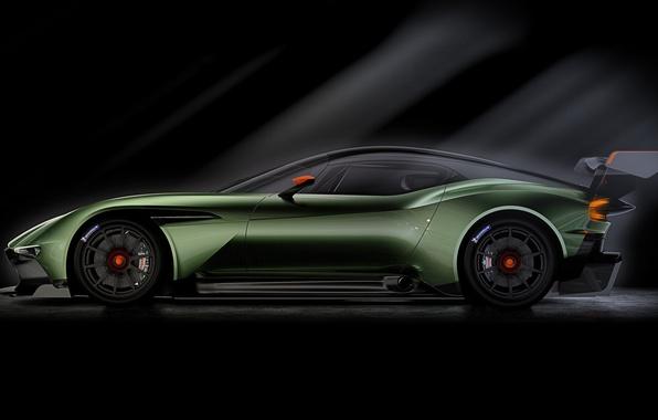 Picture Aston Martin, the volcano, Aston Martin, side, 2015, Vulcan