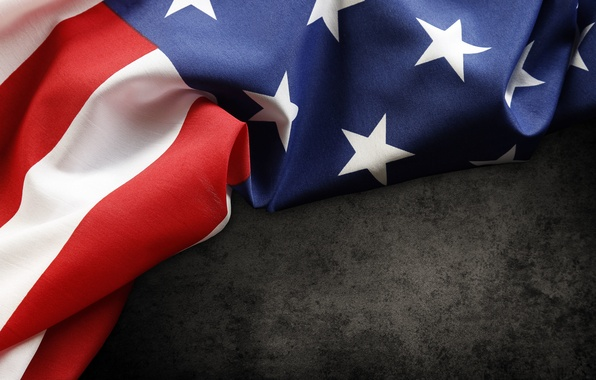 Picture red, USA, white, blue, stars, flag, fabric