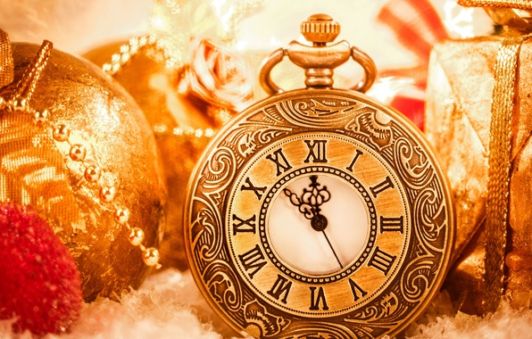 Picture photo, watch, Christmas, New year, holidays