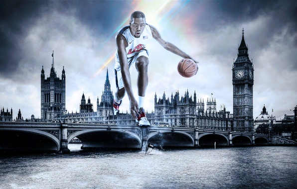 Picture London, Sport, Basketball, Olympic games, Kevin Durant, Kevin Durant