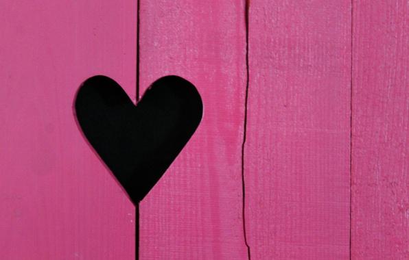 Picture heart, color, the door