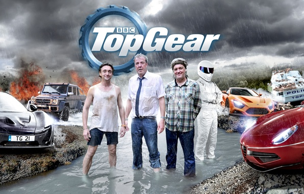 Picture Jeremy Clarkson, Top Gear, Stig, Richard Hammond, James May, Top Gear, Leading, Burma Special