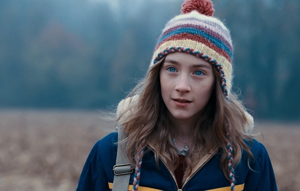 Picture field, eyes, look, girl, hat, actress, Saoirse Ronan, Saoirse Ronan, The lovely bones, The Lovely …