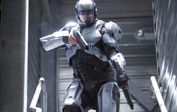 Picture Robocop, RoboCop, JUEL Kinnaman, Joel Kinnaman, Alex Murphy