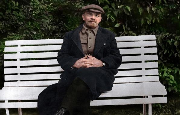 Picture Lenin, revolutionary, the leader of the world proletariat, Vladimir Ulyanov