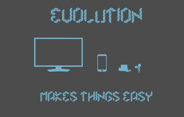 Picture easy, ipod, iphone, evolution